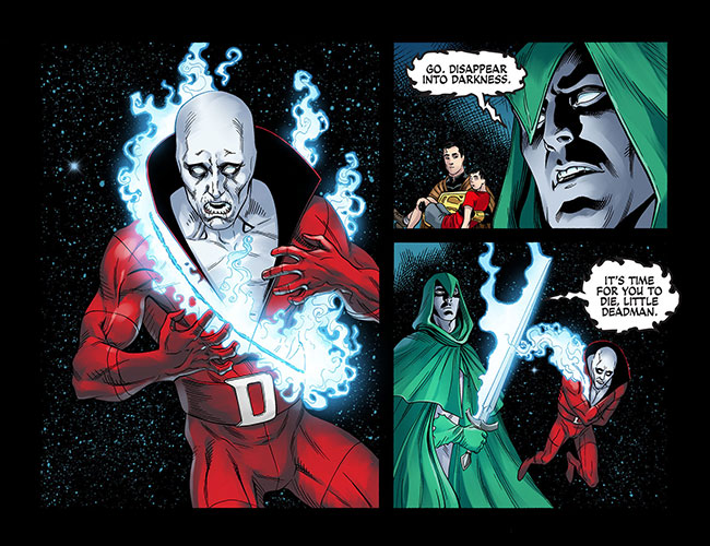 Injustice Gods Among Us Year Three 10 Spectre kills Deadman