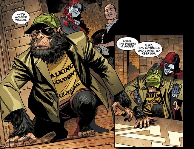 Injustice Gods Among Us Year Three 11 Bobo Detective Chimp Harley Quinn Rocket Raccoon