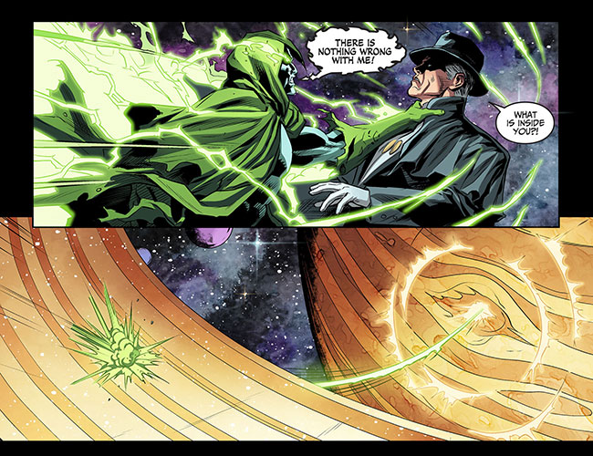 Injustice Gods Among Us Year Three 11 Spectre Phantom Stranger Saturn