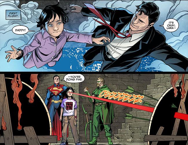 Injustice Gods Among Us Year Three 14 Lois Lane Superman daughter Lara Lane-Kent