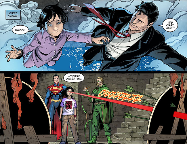 Injustice Gods Among Us Year Three 14 Lois Lane Superman daughter Lara Lane-Kent