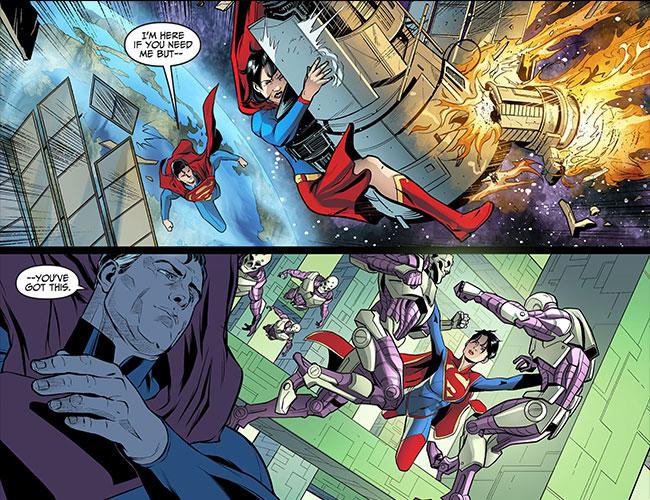 Injustice Gods Among Us Year Three 14 Lois Lane Superman daughter Supergirl Lara Lane-Kent