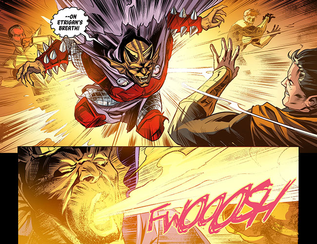 Injustice Gods Among Us Year Three 11 Batman Etrigan the Demon Yellow Lantern Superman