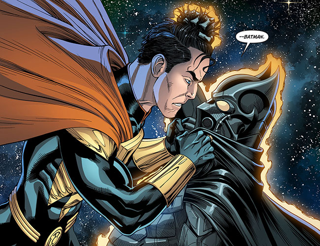 Injustice Gods Among Us Year Three 12 Batman VS Superman hair pull