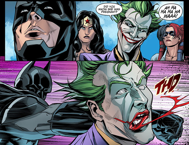 Injustice Gods Among Us Year Three 13 Batman kills the Joker punch
