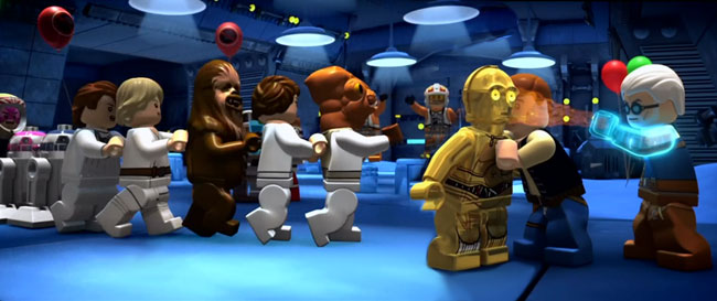 Lego Star Wars The Yoda Chronicles Clash of the Skywalkers alternate ending C-3PO Han Solo Admiral Ackbar
