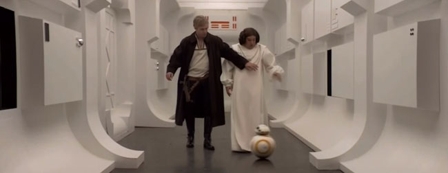 Saturday Night Live Star Wars parody R2-D2 soccer ball