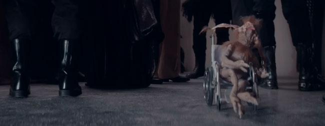 Saturday Night Live Star Wars parody Salacious B. Crumb wheelchair