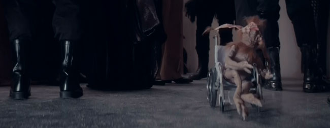 Saturday Night Live Star Wars parody Salacious B. Crumb wheelchair