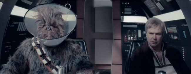 Saturday Night Live Star Wars parody chewbacca Han Solo