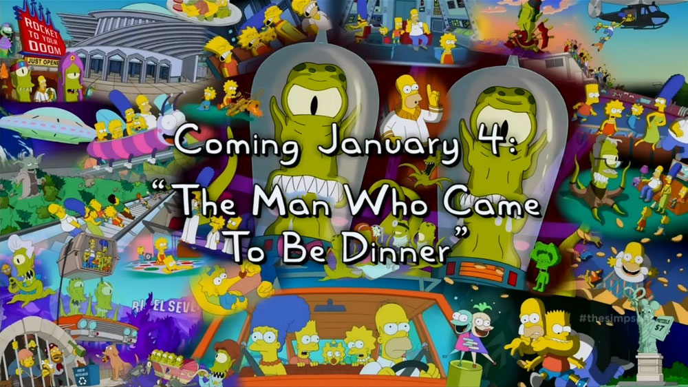 Simpsons The Man Who Came to Be Dinner Kang and Kodos