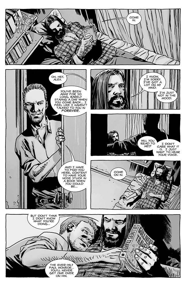 The Walking Dead 122 gay Jesus Paul Moroe and Alex