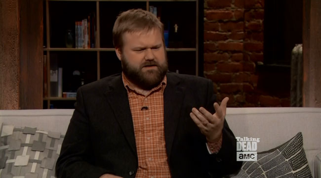 Walking Dead introduces gay Jesus in 2015 Robert Kirkman Talking Dead