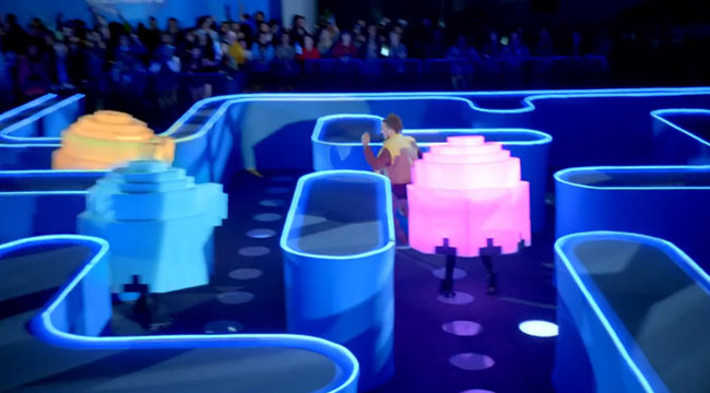 Bud light super bowl commercial features life sized pac man video bud light super bowl commercial features life sized pac man video game aloadofball Choice Image