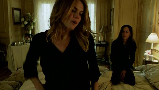 Gotham cancels Gaytham Barbara Kean (Erin Richards) Detective Renee Montoya Question (Victoria Cartagena)