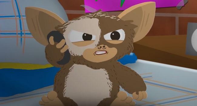 Gremlins' Gizmo stars in Taken parody