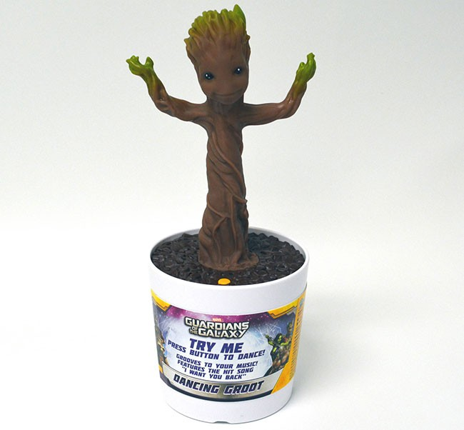 Guardians of the Galaxy electronic dancing baby Groot toy