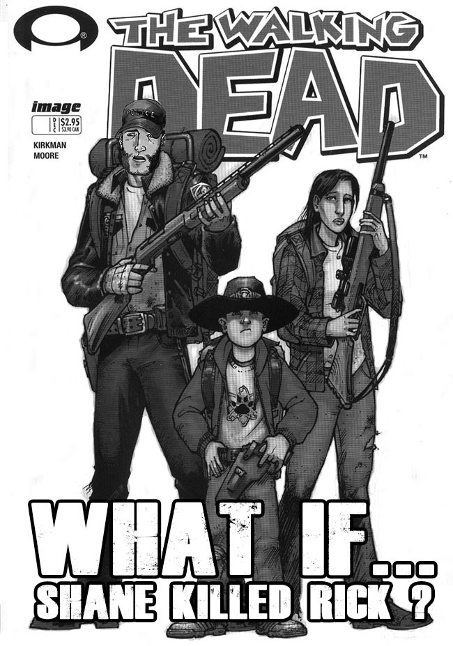 Walking Dead spinoff what if Shane killed Rick