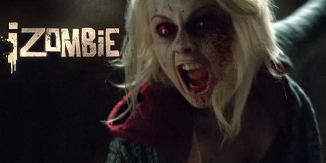 iZombie zombie Olivia Liv Moore (Rose McIver)