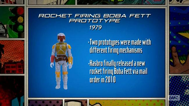 Comic Book Men Boba Fett Rocket Firing prototype My Favorite Munster