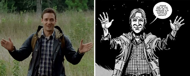 Walking Dead 67 Aaron Ross Marquand Them
