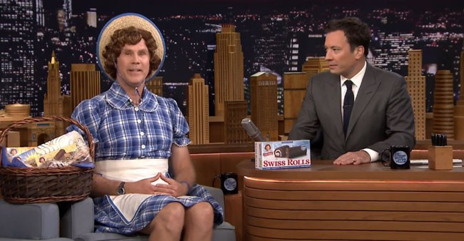 Jimmy Fallon reveals Will Ferrell new Little Debbie mascot