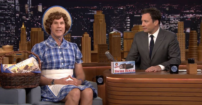 Jimmy Fallon reveals Will Ferrell new Little Debbie mascot