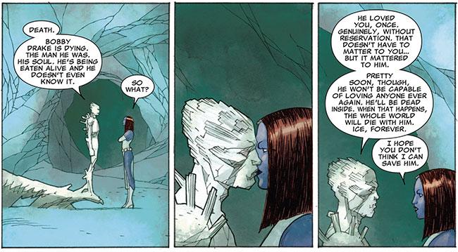 Astonishing X-Men 64 Apocalypse Death Seed Iceman Mystique