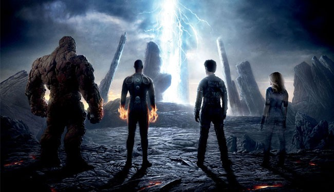 Fantastic Four movie 2015 Mister Fantastic Thing Human Torch Invisible Woman mountain