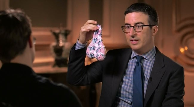 Last Week Tonight with John Oliver Edward Snowden exposes dick pic NSA program