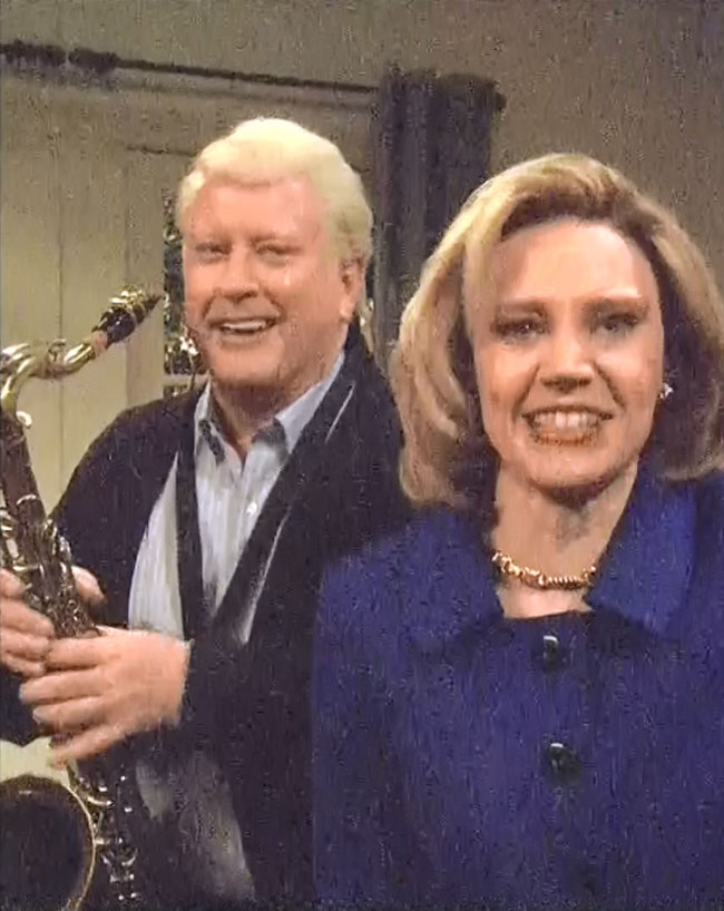 SNL Saturday Night Live Hillary Clinton Kate McKinnon Bill Clinton Darrell Hammond