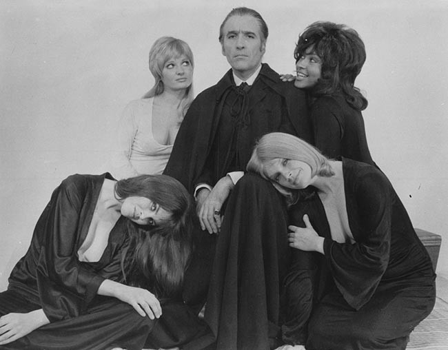 Christopher Lee Dracula A.D. 1972