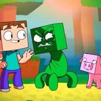 Minecraft Creeper music video