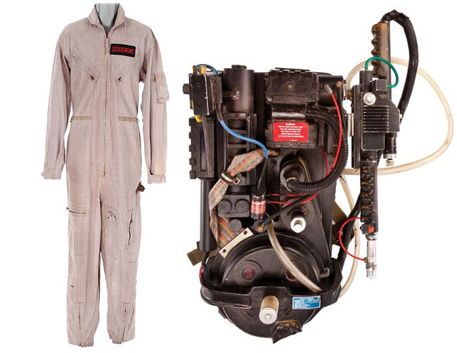 Original Ghostbusters uniform flight suit proton pack