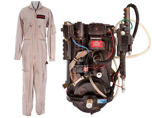 Original Ghostbusters uniform flight suit proton pack