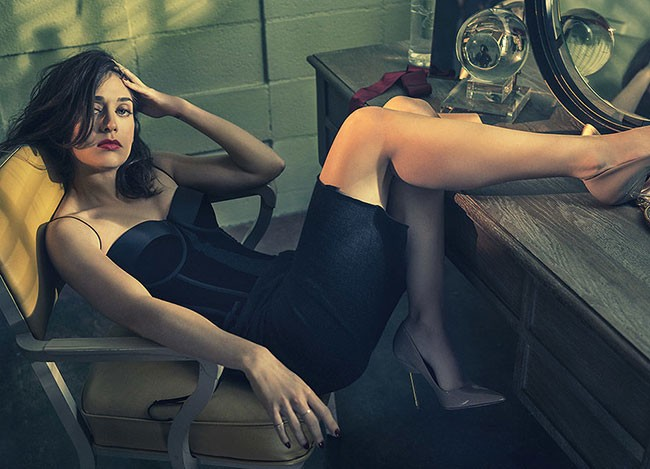 Playboy Lizzy Caplan Masters of Sex