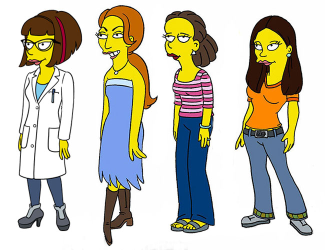 Simpsons Every Mans Dream Candace Lena Dunham Girls Jemima Kirke Allison Williams Zosia Mamet