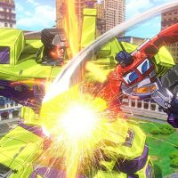 Transformers Devastation video game Devastator vs Optimus Prime