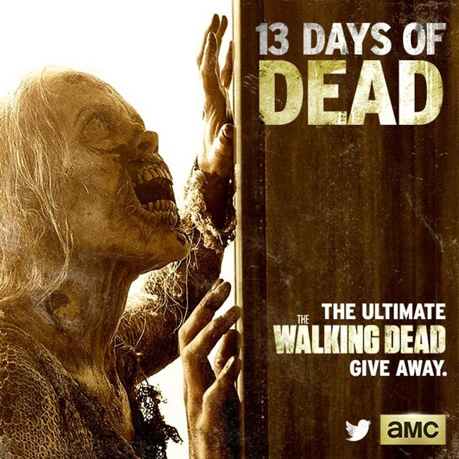 Walking Dead sweepstakes 13 Days of Dead offers new prize everyday