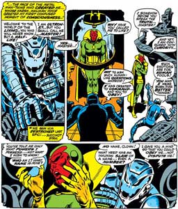 Avengers 58 Ultron creates Vision