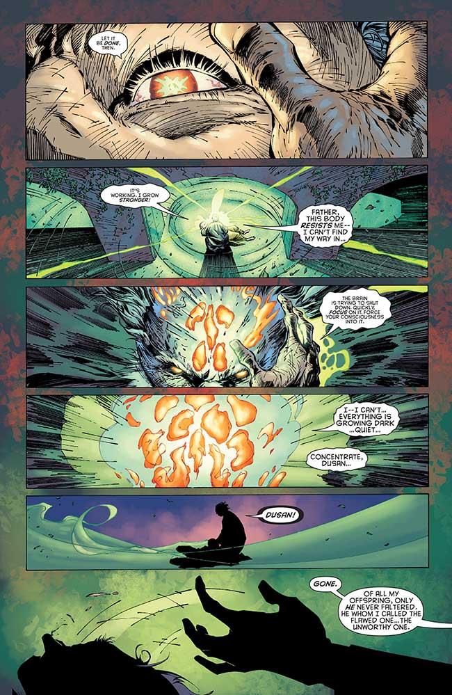 Batman The Resurrection of Ra's Al Ghul White Ghost Unworthy One Dusan