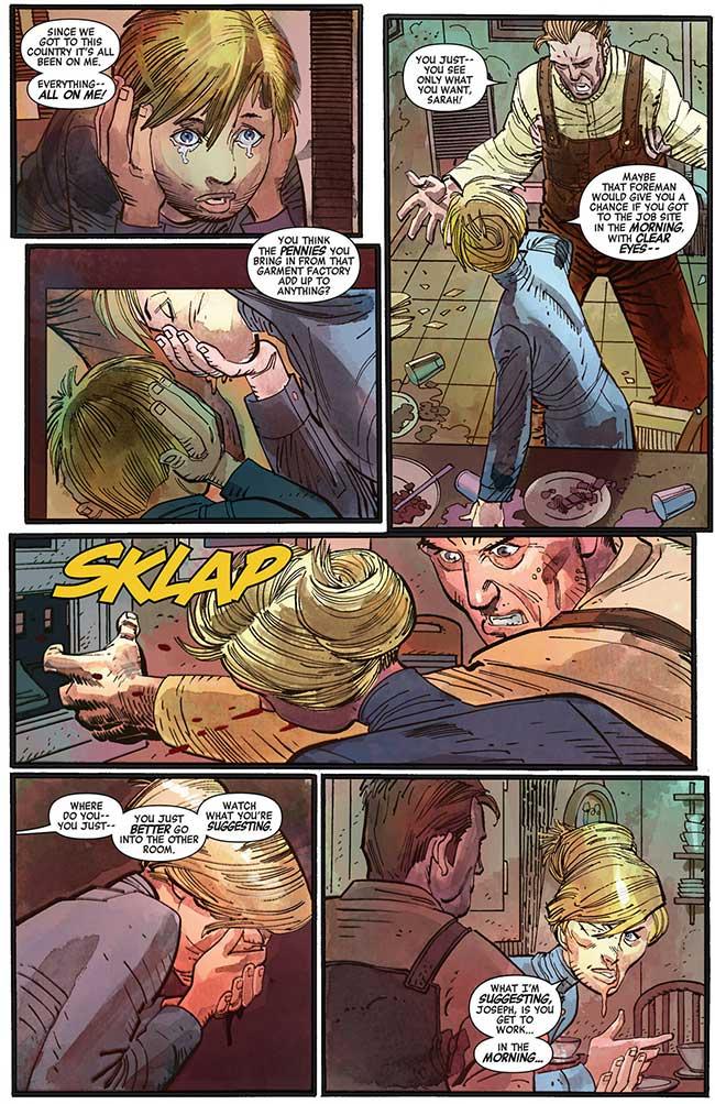 Captain America 1 domestic abuse Joseph Sarah Steve Rogers