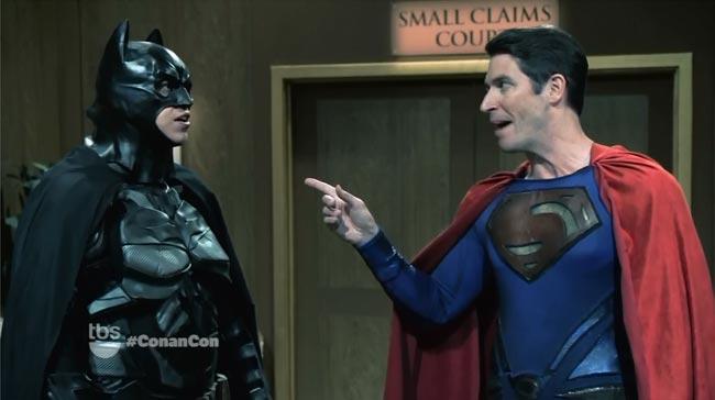 Conan Comic-Con Batman V Superman small claims court