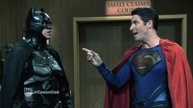 Conan Comic-Con Batman V Superman small claims court