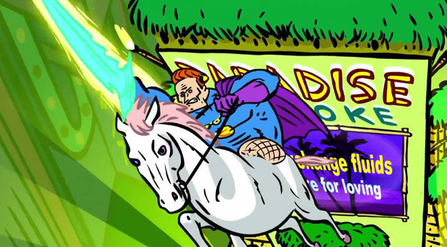 Conan Flaming C episodes Comic-Con