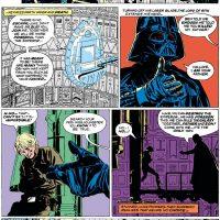 Darth Vader Luke Skywalker hand lightsabre Star Wars Omnibus A Long Time Ago volume 2 Star Wars 44