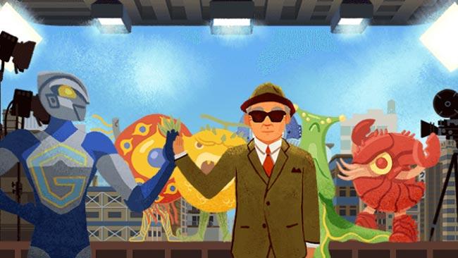 Google Doodle honors Godzilla Ultraman creator Eiji Tsuburaya