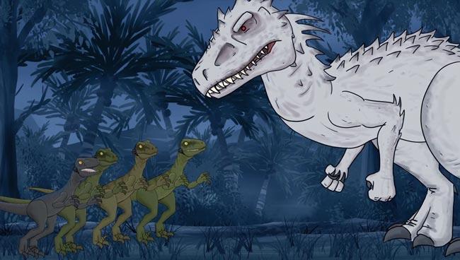 Jurassic World Jurassic Park raptors Indominus rex How It Should Have Ended
