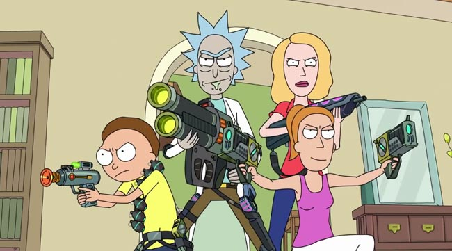 Rick and Morty season 2 trailer features Weird Science