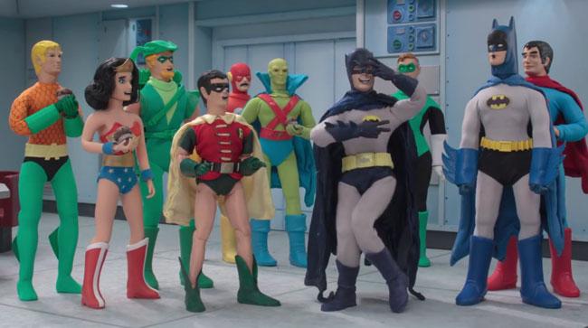 Robot Chicken DC Comics Special 3 Magical Friendship trailer Batman dance Batusi